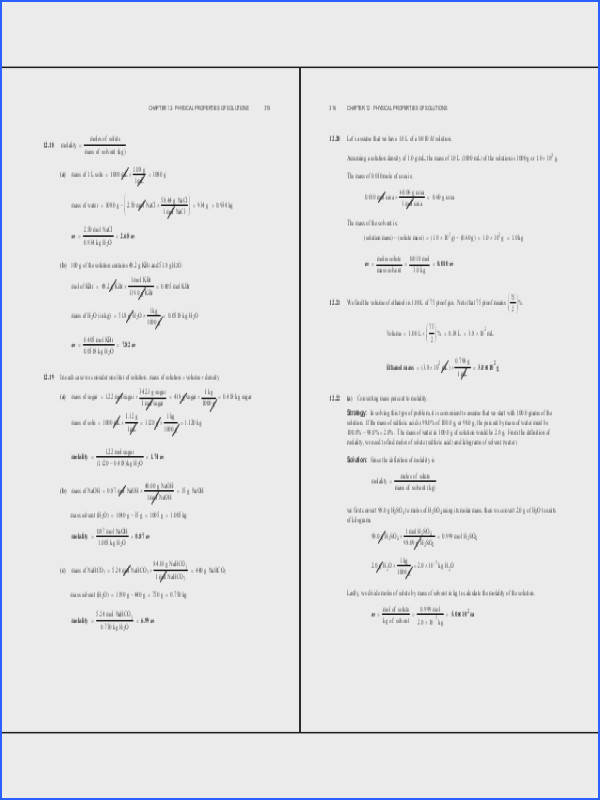 Water And Solutions Worksheet Worksheets for all Download and Worksheets