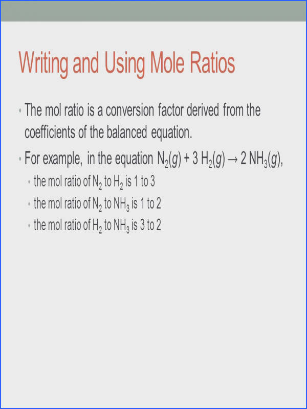 stoichiometry mole ratio worksheet answers intrepidpath name