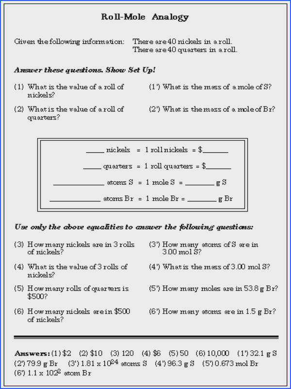 Mole Ratios And Mole To Mole Conversions Worksheet Answers Worksheets for all Download and Worksheets