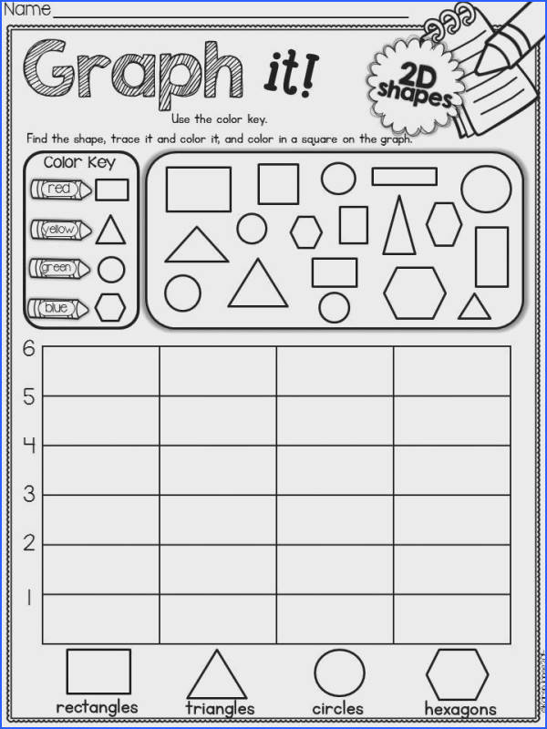 A way for checking shapes Each child s a shape to place on large graph paper