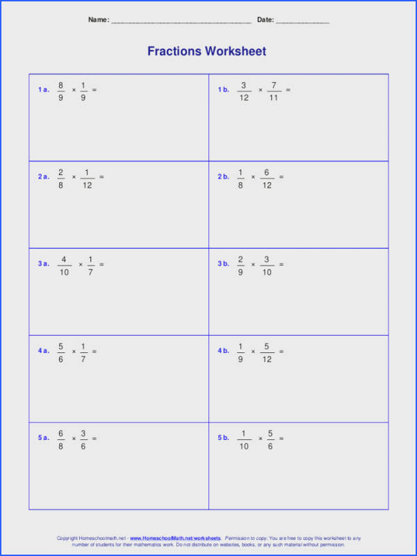 Multiplying Fractions Worksheets 5th Grade And Dividing Word Problems 6th Multiplication Pdf Worksheet For Graders Year