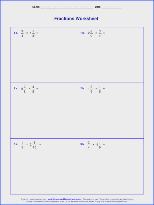 Multiply Fractions By Whole Numbers Worksheet Worksheets For Fraction Multiplication Multiply Fractions By Whole Numbers