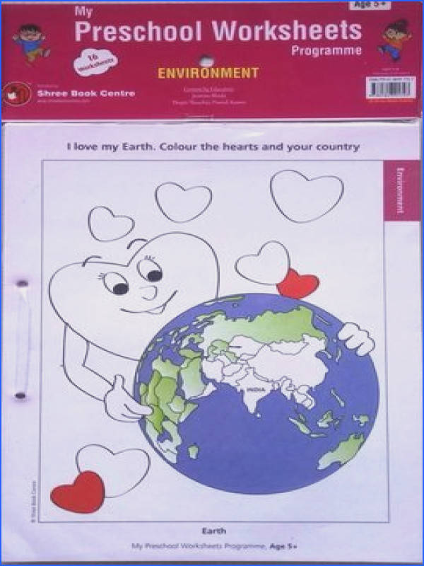 My Preschool Worksheets Environment Level 3 Age 5 Worksheets Kids Treasures