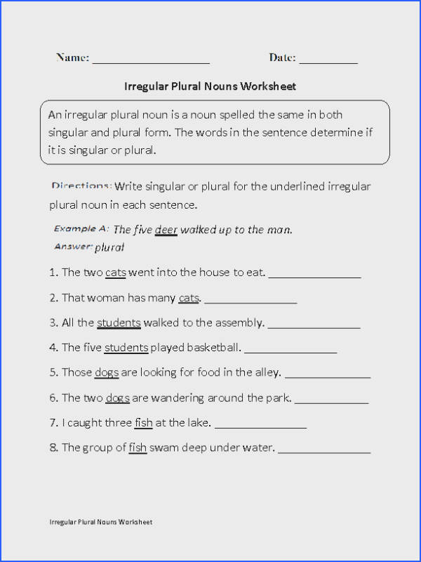 Noun Practice Worksheet Worksheets for all Download and Worksheets