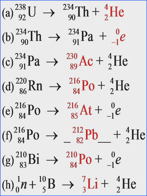 Nuclear Decay Equations Worksheet Answers Worksheets For All