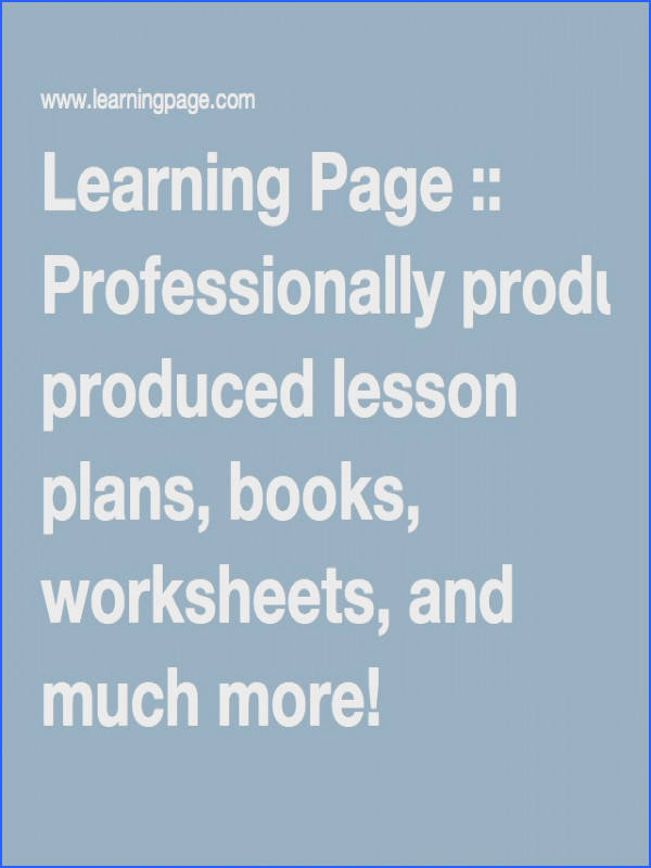 insects Learning Page Professionally produced lesson plans books worksheets and much more
