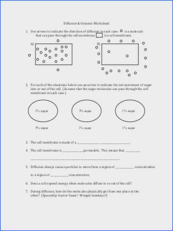 Osmosis and tonicity Worksheet Answers New Osmosis Tiered Lesson Collection Osmosis and tonicity Worksheet Answers