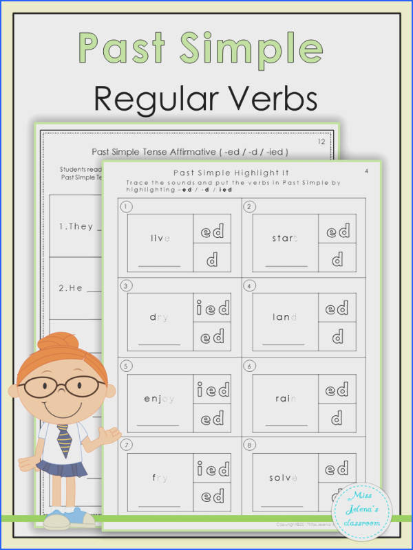 $Past Simple Regular Verbs
