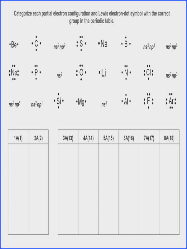 Lewis Dot Structure Worksheet Mychaume