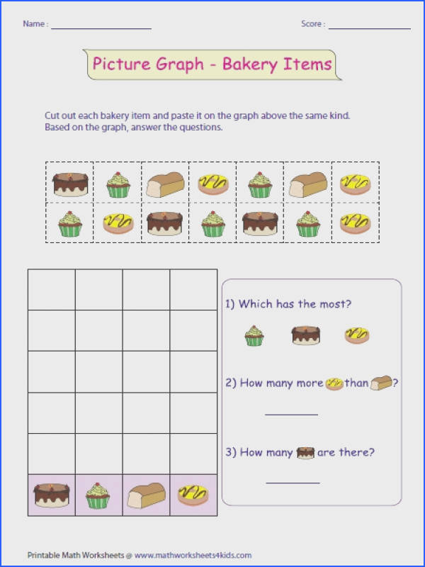 Pictograph Worksheets with regard to Pictograph For First Grade