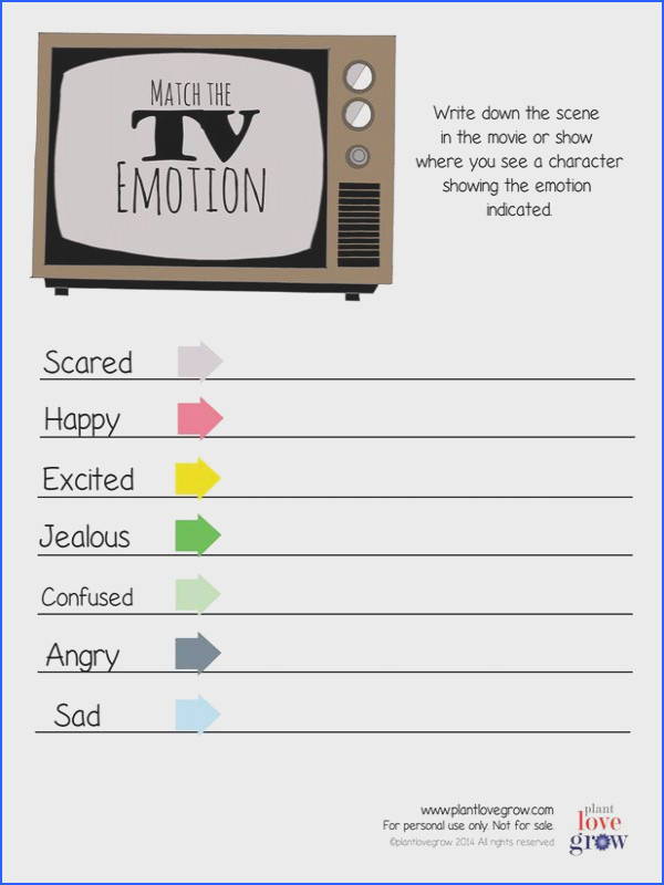 Feelings & Emotions tools for children