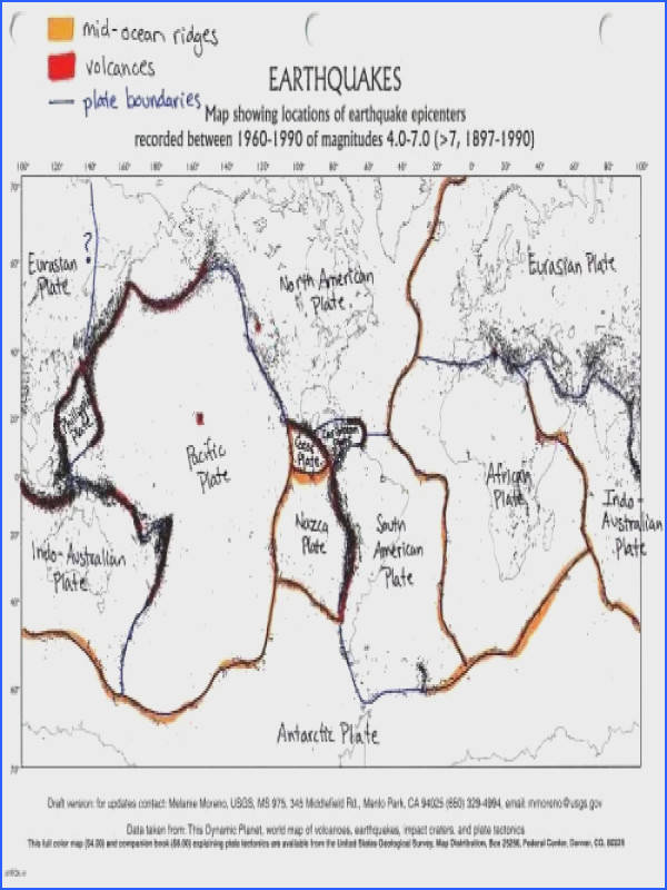 boundaries worksheet · best teaching plate tectonics images on pinterest teaching map of us plate boundaries