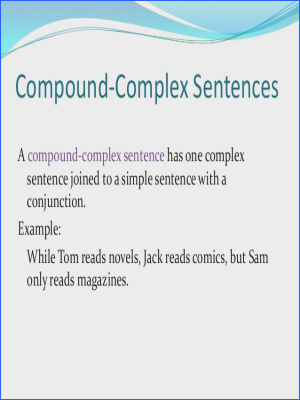 pound plex Sentence Example plex Sentence Examples Alisen Berde Sentence Types pound plex Sentence Examples Exercise For All Simple