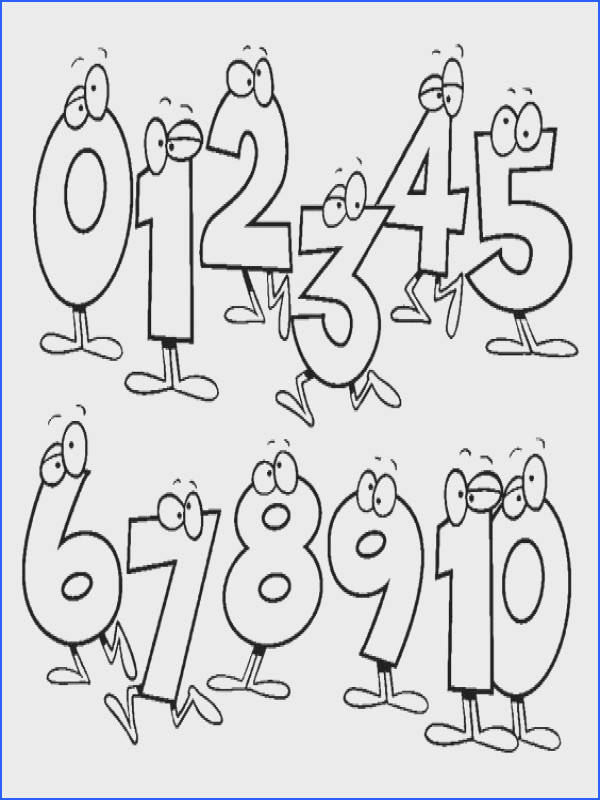 Coloring Book Numbers With Funny Numbers Coloring Pages For Preschool Free Coloring Pages For Coloring Book Numbers With Funny Numbers Coloring Pages For