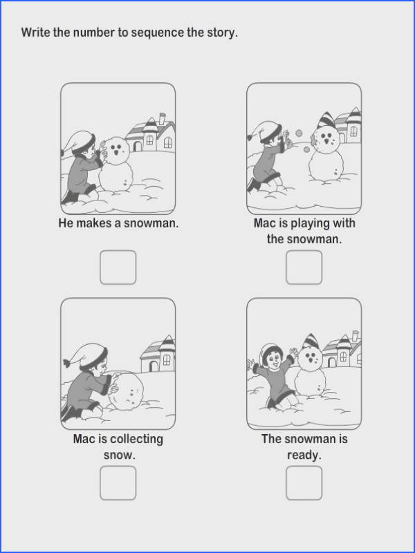 Print Free Worksheets Educational Worksheets For Kids Education Practice Picture Sequence Worksheets SPEECH THERAPY Language Pinterest