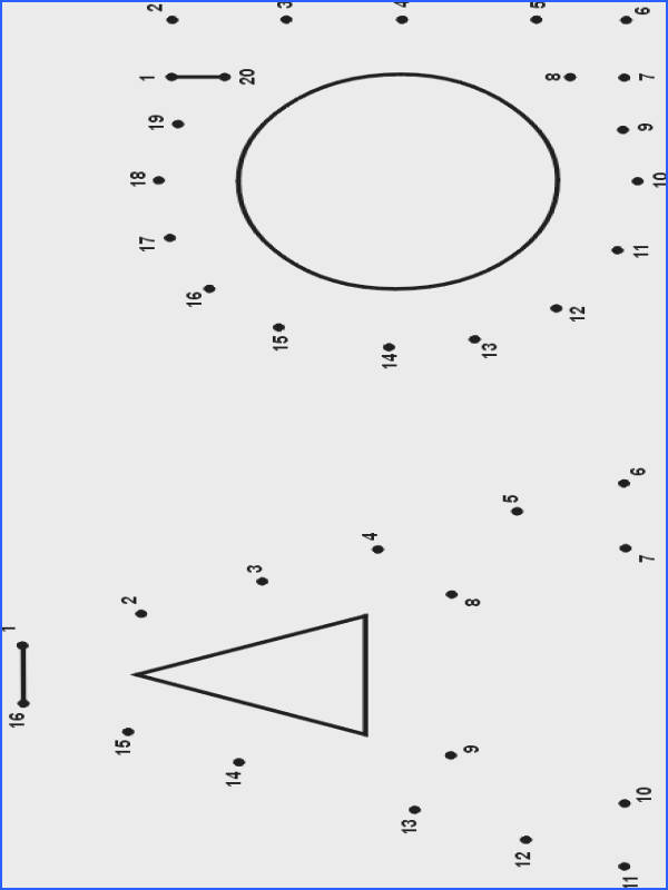 FREE upper and lowercase Dot to Dot alphabet letters
