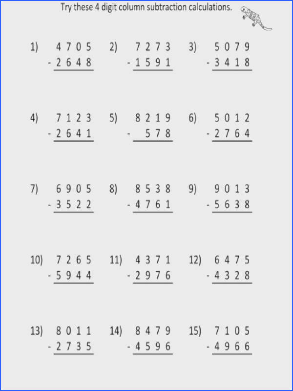 printable third grade math worksheets free library rounding numbers 3rd worksheet column subtraction 4 dig a