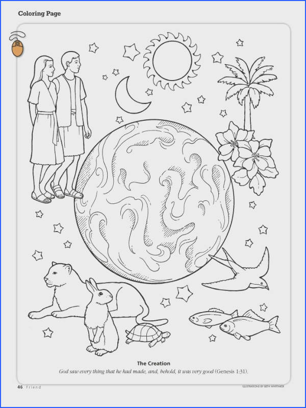 Printable Coloring Pages from the Friend a link to the lds friend coloring page with lots