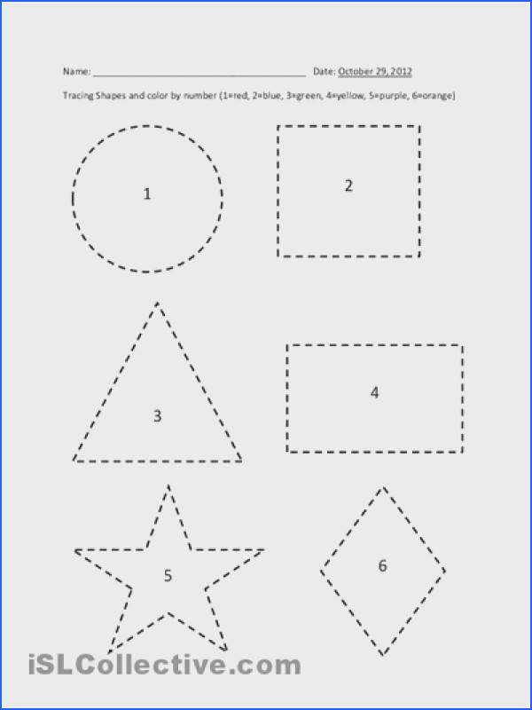 Printable Shape Tracing Worksheets Pre K Pinterest Image Below Shape Tracing Worksheets