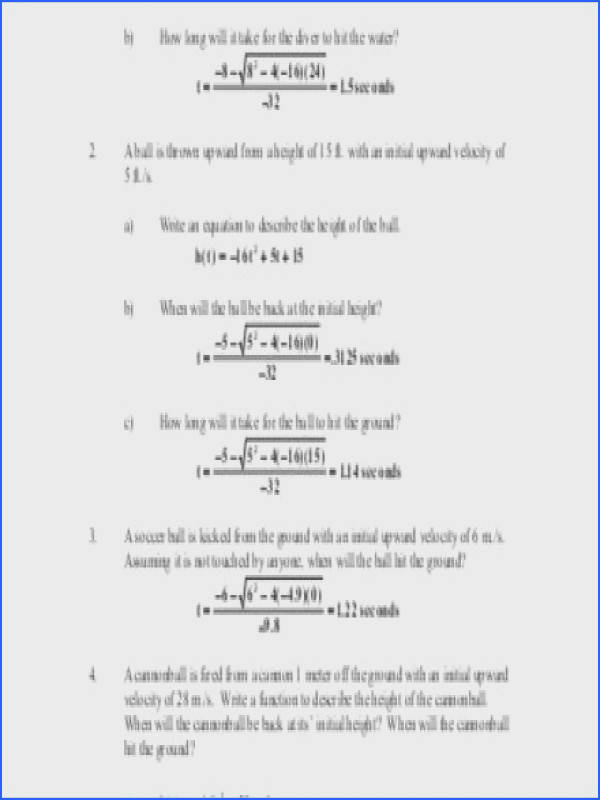 19 Projectile Motion Worksheet With Answers Phet Simulation