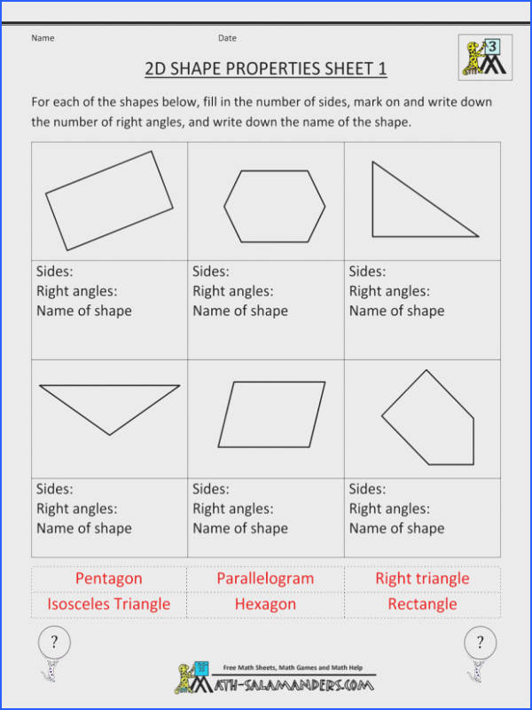 Pythagorean Theorem Word Problems Worksheet Free Printable Geometry Worksheets 3rd Grade Pythagorean Theorem Word Problems