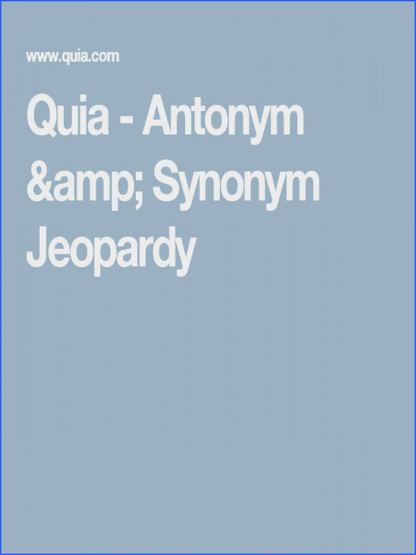 The questions cover basic antonyms and synonyms for graders