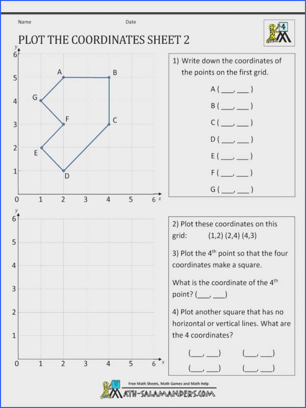 Coordinate Plane Worksheets Mychaume. Coordinates Maths Worksheets Coordinate Math Gcse Plane Christmas Aids 720. Worksheet. The Coordinate Plane Worksheet At Clickcart.co