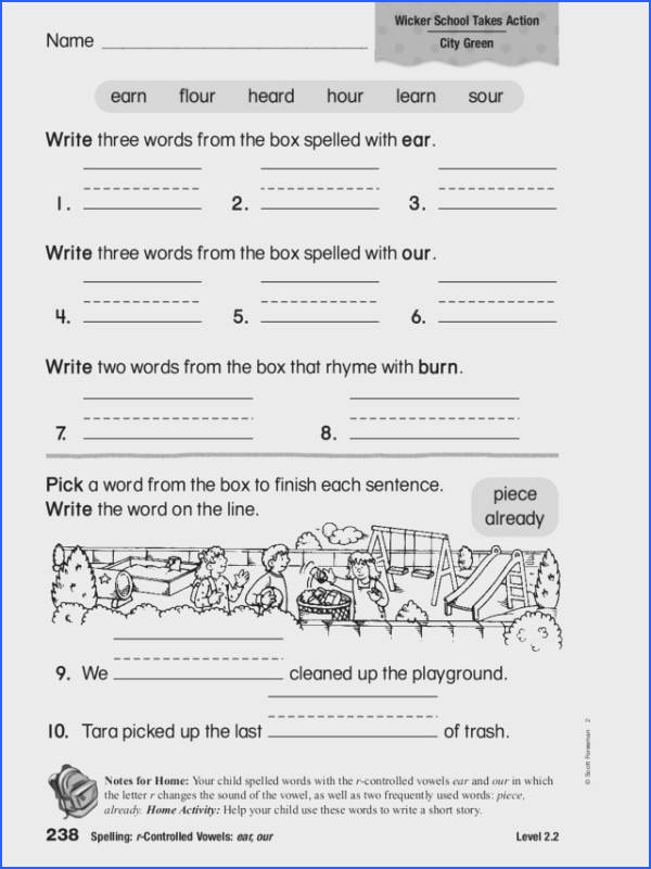Worksheets For All Download And Worksheets Free R Controlled Vowels