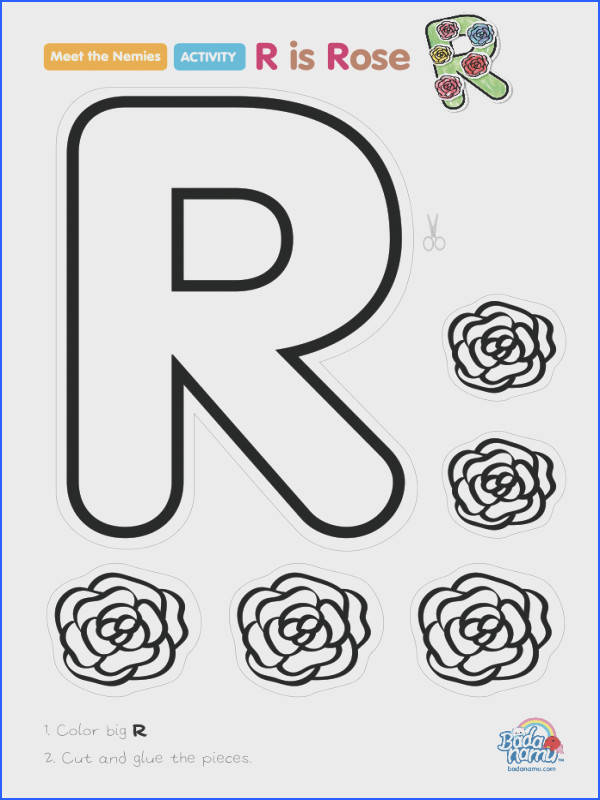 R is Rose craft A whole craft series to go with our Meet