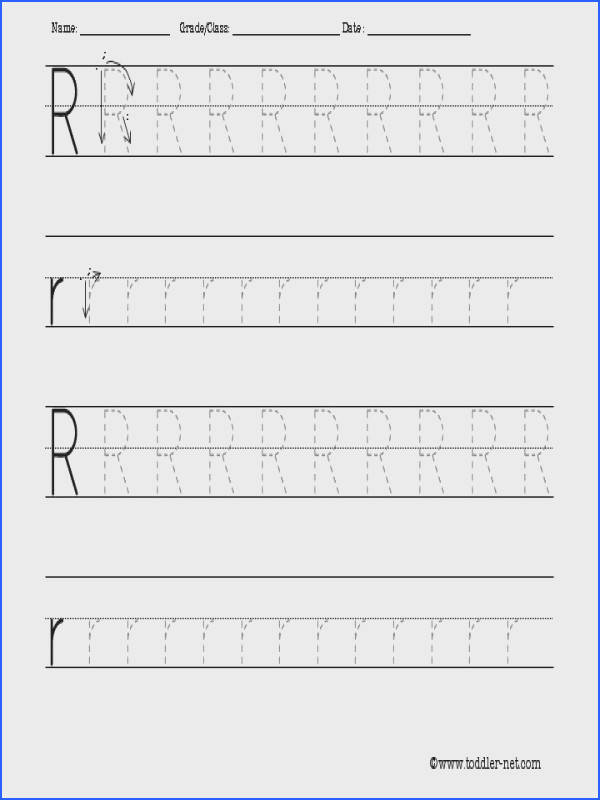 r printable worksheets letter r tracing
