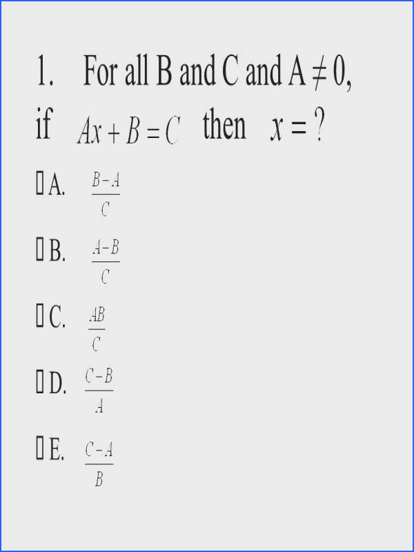 Rationalizing the Denominator Worksheet Fresh Pass Algebra Practice Test 7 This Practice Test is 10 Items