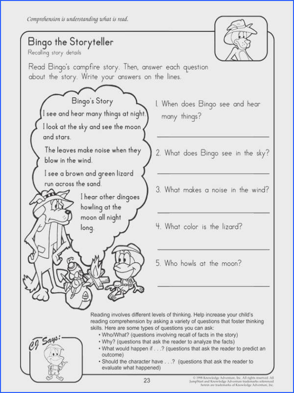 Reading prehension worksheet 2nd SMLF