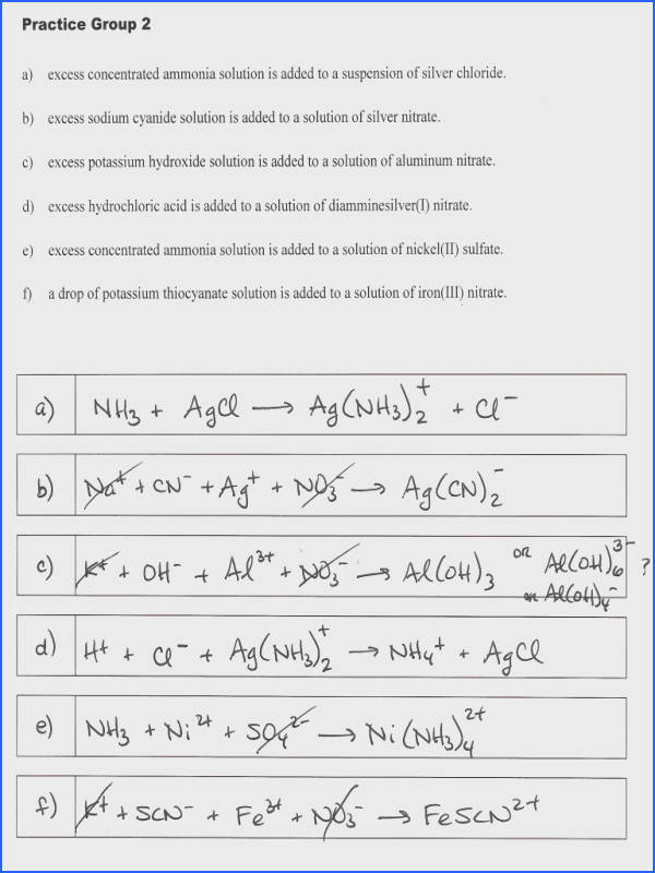 Redox Reaction Worksheet Worksheets for all Download and Worksheets