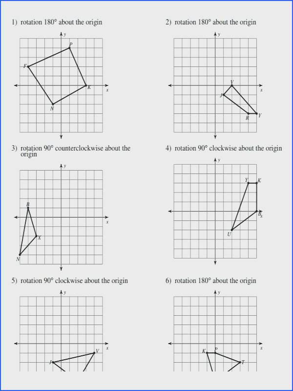 reflection worksheet answers and geometry rotations worksheet perfect refraction and total internal reflection worksheet answers