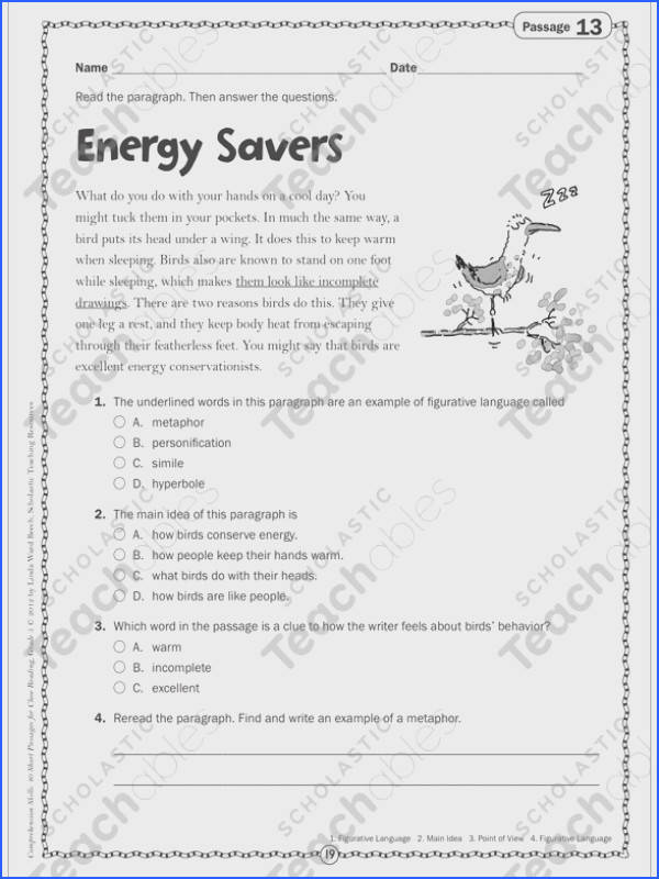 Science Skills Worksheet Answer Key Fresh Energy Savers Close Reading Passage Stock Science Skills Worksheet