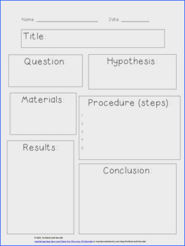 Scientific Method SIMPLE Worksheet from fortheloveofchocolat on TeachersNotebook 1 page
