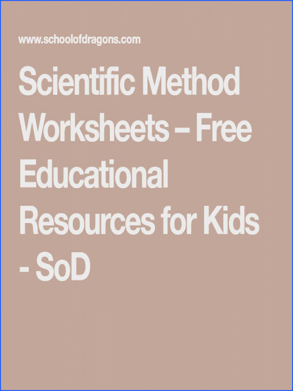 When you learn the scientific method you are actually learning how to learn Check out these free printable Scientific Method worksheets for all grades