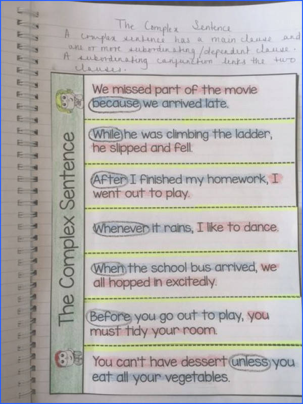 Teach sentence structure using Interactive Notebooks Task Cards and QR Code Cards s