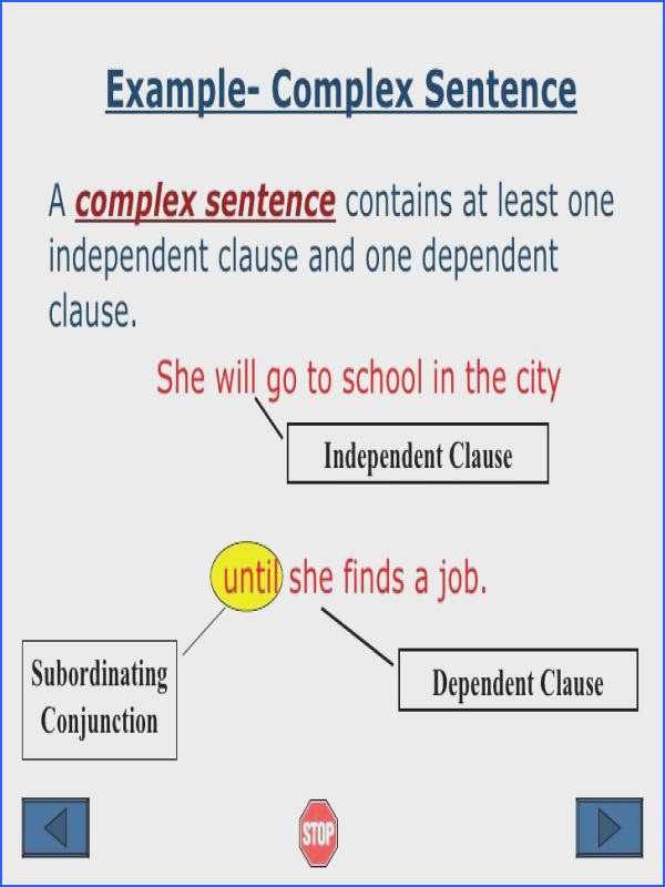 sentence structure examples Google Search
