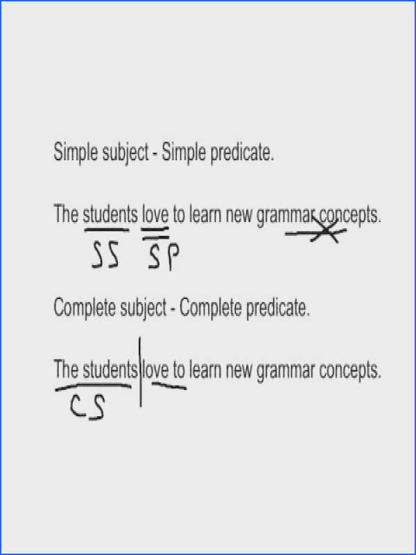 Simple & plete Subjects and Predicate