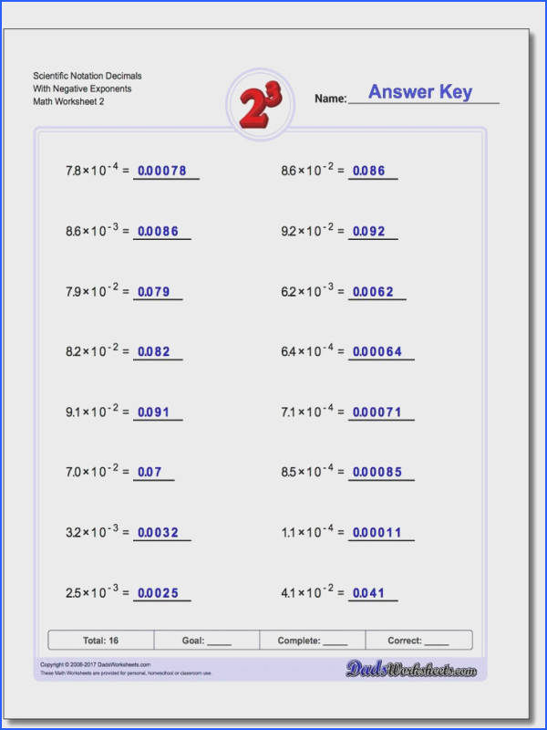 The Best Exponents Practice Ideas Order