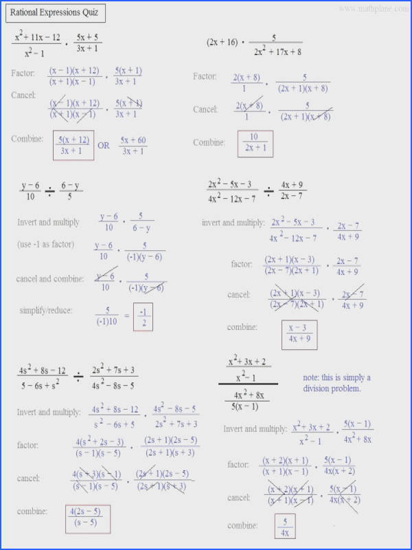 math plane simplifying rational expressions · rational expression worksheet