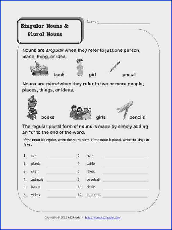 e or many your youngster needs to learn how nouns work In this worksheet