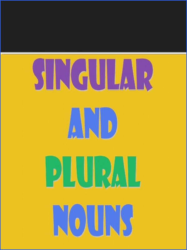 singular and plural nouns ppt by bernabaoya via Slideshare