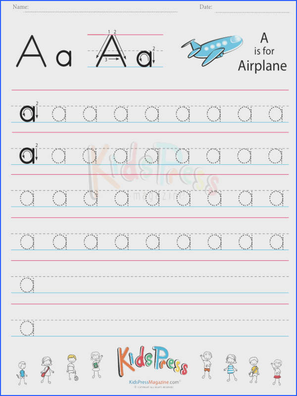 Small Letter Alphabet Handwriting Practice Bundle Vol 1