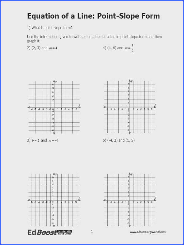 Printables Graphing Linear Equations Practice Worksheet graphing linear equationsinequalities edboost equation of a line point slope