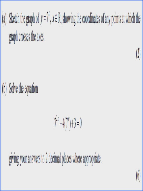 Solving Exponential and Logarithmic Equations Worksheet New Exam Questions Logarithms Examsolutions Gallery Solving Exponential and