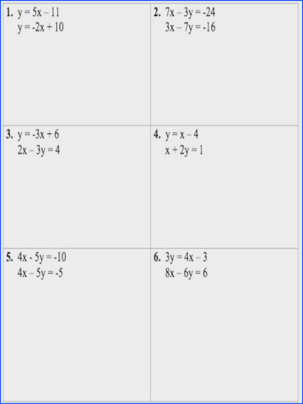 Good Solving Systems Equations With Matrices Worksheet Gamersn
