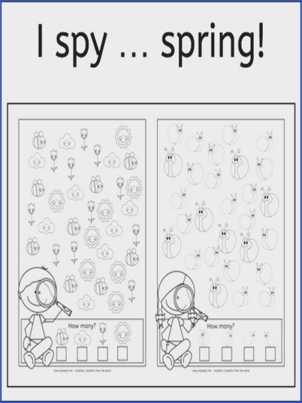 Free Printable Spring Worksheets Worksheets for all Download and Worksheets