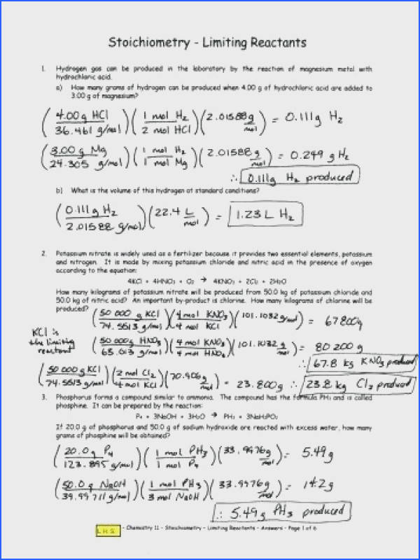 stoichiometry practice problems worksheet answers to her with b limiting limiting reagent worksheet answers amazing stoichiometry practice